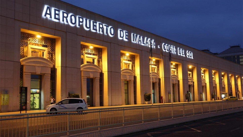 Malaga lotnisko Hiszpania